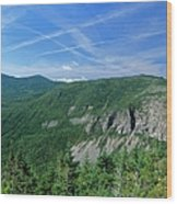 Cannon Mountain - White Mountains New Hampshire Usa Wood Print