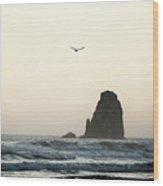 Cannon Beach Wood Print