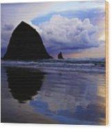 Cannon Beach Nature's Symphony Wood Print