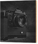 Canon F-1 Wood Print