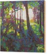 Canopy Wood Print