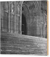 Canterbury Cathedral Choir Entrance Canterbury England Wood Print