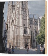 Canterbury Cathedral England Wood Print
