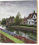 Canterbury City, Kent Uk Wood Print