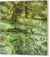 Cantwell Cliffs 2 Hocking Hills Wood Print