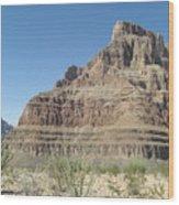 Canyon Base At The Grand Canyon Wood Print