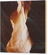 Canyon Birth Wood Print