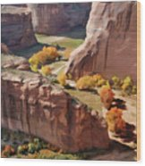 Canyon De Chelly Wood Print