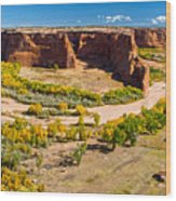 Canyon De Chelly Arizona Wood Print
