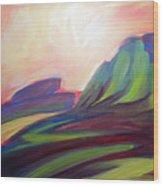 Canyon Dreams Sunset Wood Print