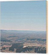 Canyon Expanse Wood Print