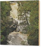 Canyon Falls 2 Wood Print