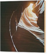 Canyon Flares Wood Print