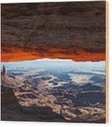 Canyon Glow Wood Print