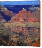 Canyon Layers Wood Print