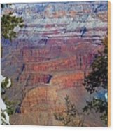Canyon Mystique Wood Print