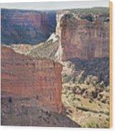 Canyon Passage Wood Print