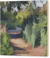 Canyon Path II Painterly Wood Print