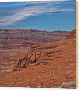 Canyon Rim Wood Print