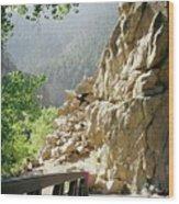 Canyon Rocks Horizontal Wood Print