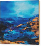 Canyon Song Wood Print