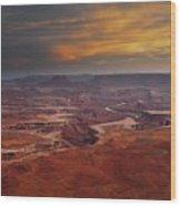 Canyonlands Overlook Utah Wood Print