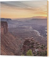 Canyonlands Sunrise Wood Print
