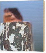 Cap Chip  Wood Print