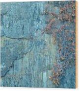 Cape Ann Granite Wood Print