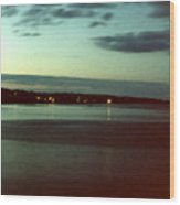 Cape Ann Sunset Wood Print