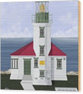 Cape Arago Oregon Wood Print