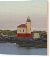 Cape Blanco Lighthouse Li 8000 Wood Print