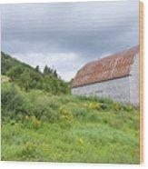 Cape Breton Barn Wood Print