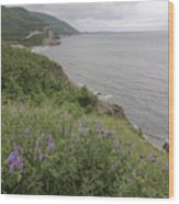 Cape Breton Coast Wood Print