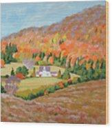 Cape Breton Home Wood Print