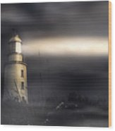 Cape Bruny Lighthouse Wood Print