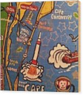 Cape Canaveral 1960 Wood Print