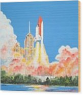 Cape Canaveral Wood Print