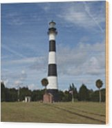 Cape Canaveral Florida Light Wood Print