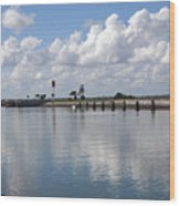 Cape Canaveral Locks In Florida Wood Print