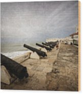 Cape Coast Castle Wood Print