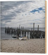 Cape Cod Bay Wood Print