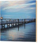 Cape Cod Blue  Wood Print