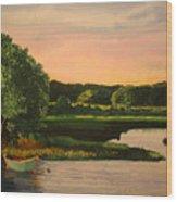 Cape Cod Dory Wood Print
