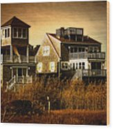 Cape Cod Gold Wood Print