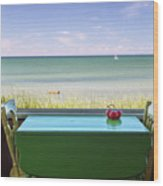 Cape Cod Paradise Wood Print