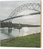 Cape Cod Sagamore Bridge Series #3 Wood Print
