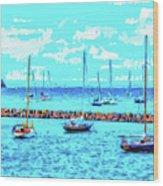 Cape Cod - Sailing Mecca Wood Print