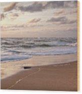 Cape Cod Sunrise 1 Wood Print