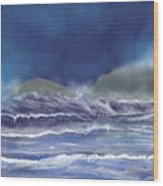 Cape Cornwall Wood Print